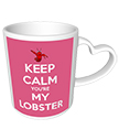 You're my Lobster Heart Mug