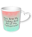 Love Quote Heart Mug
